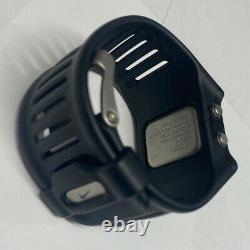 Rare Mens Nike Hammer Watch WC0021 Black & Red New Battery Excellent Condition