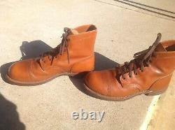 Red Wing Iron Ranger Muson Japan limited Edition size 9D excellent condition