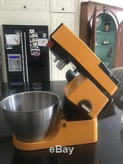 Retro 1970/80s Kenwood Mixer A901 Tangerine Limited Edition Mint Condition
