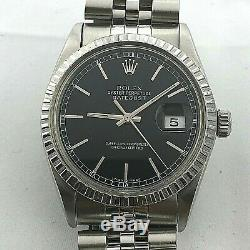 Rolex Datejust Ref 16014 Automatic Quick Set Date Circa 1985 Great Condition