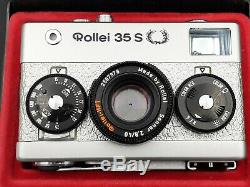 Rollei 35 S Silver Limited Edition Oak Leaves USA Export Mint Conditions