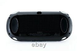 SONY PS Vita PCH-1000 / 1100 Black Model OLED Wi-Fi withBox in Near Mint Condition