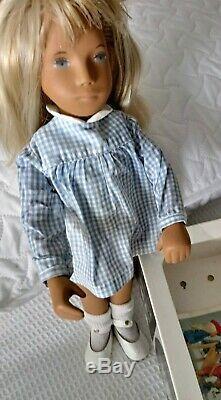 Sasha Blonde Gingham Doll 107. Vintage 1960s. 70s Great Condition. Trendon Ltd. GB