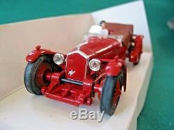 Scalextric Nscc Ltd Ed Red C306 2.3l Alfa Stunning Mint Condition