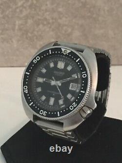 Seiko 6105-8110 Automatic 17j 6105B-8009T Working Original Condition Dec/76 VGC