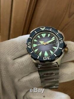 Seiko Limited Edition Monster SRP455J1 Collectors Condition Japan Made