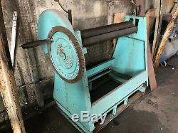 Sheet Roller F J Edwards Ltd Hand Operated Excellent Condition