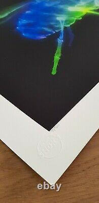 Shok-1'X-FLY' Limited Edition Signed Print of only 50 Inc COA in Mint Condition