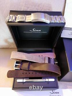 Sinn 856 I B Tegimented (Limited Production) excellent condition complete+ extra