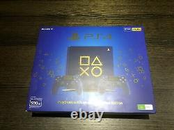 Sony PS4 Slim 500GB Days of Play Limited Edition Rare Excellent Condition