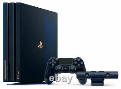 Sony playstation PS4 Pro 2TB 500 Million Limited Edition Console mint condition