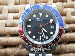 Squale 1545 30 Atmos Pepsi GMT Ceramica. Excellent Condition. Full Kit