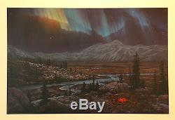 Stephen Lyman, Midnight Fire, S/N LE Lithograph, Mint Condition, # 2028