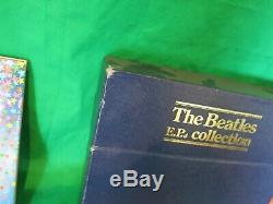 THE BEATLES E. P. Collection UK Original BEP-14 Blue Box Set Excellent Condition