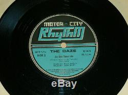 THE DAZE ULTRA ORIG 7 i wanna be a star DIY PUNK GREAT CONDITION SEX PISTOLS