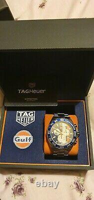 Tag Heuer Formula 1 Gulf Edition. Mint Condition. RefCAZ101N. FC8243