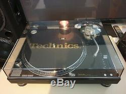 Technics 1210 Mk5g Deck Turntable Limited Edition Finish With LID Mint Condition