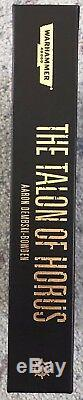 The Talon of Horus Limited Edition By Aaron Dembski-Bowden Mint Condition OOP