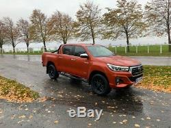 Toyota Hilux Pick up 50th Limited Edition NEW SHAPE 68reg