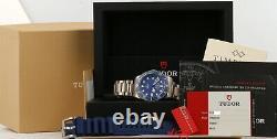 Tudor Pelagos Blue 25600TB Titanium COMPLETE SET! Stunning Condition! 25600