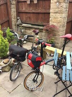 Two Limited Edition Brompton Bicycles From A Unique Collection/amazing Condition