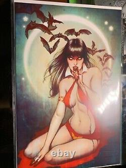 Vampirella # 1 Jenny Frisson VIRGIN Variant in NM+ condition Ltd to 50 copies