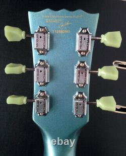 Vintage VS6 SG electric guitar Gibson shape Pelham blue special limited edition