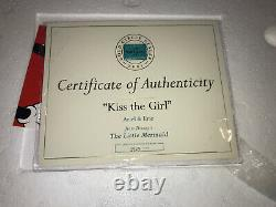 WDCC Little Mermaid Kiss The Girl Eric & Ariel Limited Edition Mint Condition