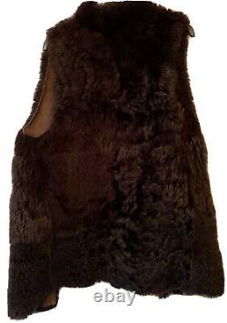 WHISTLES SHEEPSKIN GILET. Sleeveless. Size M. Immaculate Condition
