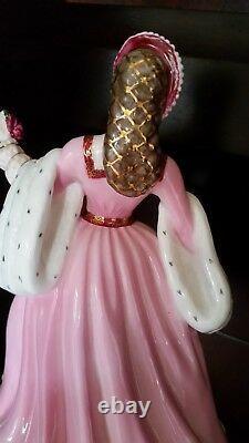 Wedgwood Fine Bone China Anne Boleyn Limited Edition. Perfect Condition