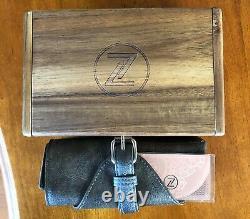 ZELOS SWORDFISH 40MM BRONZE SALMON limited edition. Excellent Condition