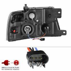 04-08 Ford F150 Fiber Optic Neon Tube U-barbe C-shape Led Projecteur Drl Phare