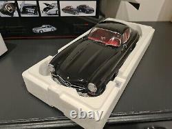 1/12 Mercedes Benz Très Rare 300 Sl En Détail Noir, État De Menthe