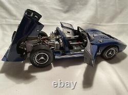 1/18 Exoto 1966 Ford Gt40 Mkii X-1 Roadster, Excellent État, Beau