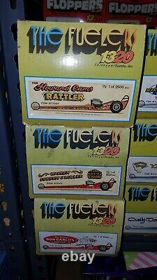 1320 Les Fuelers. 18 Car Lot. Mint Condition! Serpent, Mongoose, Green Elephant