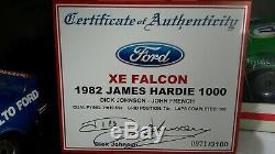1982 Xe Falcon Dick Johnson Tru Bleu # 17 Biante 1 18 Échelle Comme Nouvelle Condition