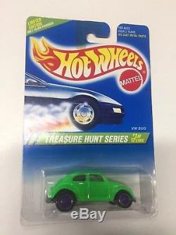 1995 Chasse Au Trésor Hot Wheels Vw Bug 95 Th Excellent État