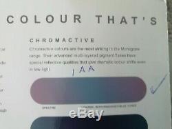 2003 Mg Tf Monogram Chromactive Limited Edition 1 26 Pristine Condition