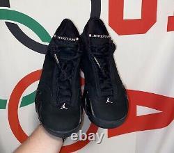2005 Air Jordan XIV (14) Rose Taille Réel 9,5m 11w No Box 9/10 Condition