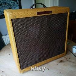 2014 Fender Bassman Ltd'59 Ri Tweed 4x10 Tube Ampli Excellent État Valve