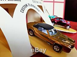 2018 Hot Wheels Rlc Original 16 Affichage 1/1500 Lot 5 Voitures En Parfait État