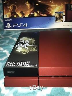 2to Édition Limitée Final Fantasy Type-0 Système Suzaku Ps4 - Excellent État