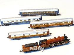 8108 Marklin Z Échelle Orient Express Ensemble De Train En Très Bon État