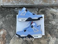 Air Jordan Retro 4 University Blue Taille 9 Ct8527-400 Grande Condition