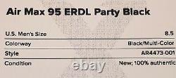 Air Max 95 Erdl Noir Great Condition Limited Edition Taille-7.5-livraison Gratuite