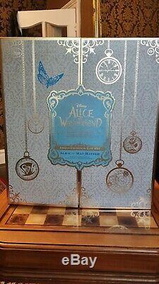 Alice Au Pays Des Merveilles Et Mad Hatter, Édition Disney Limited, Excellent État