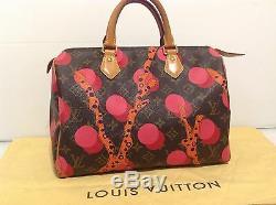 Authentique Louis Vuitton Speedy 30 Ltd Edition Ramages Monogram. Ex Condition