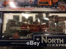 Bachmann Big Haulers North Star Express Echelle G Train Grande Condition