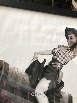Banksy Cans Festival Très Rare Edition Limitée Bon État Et Encadré