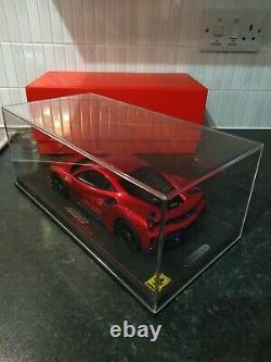 Bbr 1/18 Ferrari 488 Pista F1 2007b Rouge 1 De 28 Ltd Rare Display Great Condition
